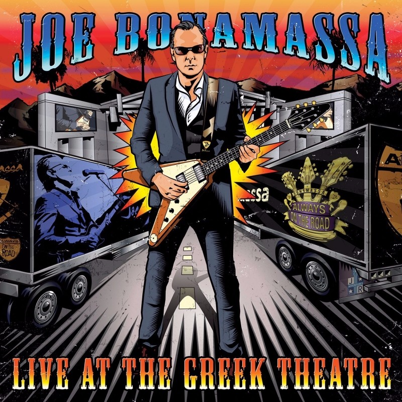 joe bonamassa live at the greek theatre